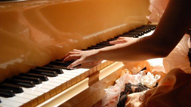 ピアノレッスン開始時